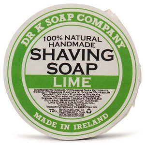 Dr K Soap Company Scheerzeep Lime 70g