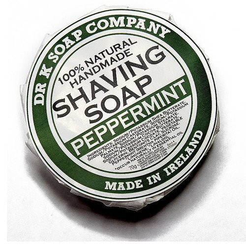 Dr K Soap Company Scheerzeep Peppermint 70g