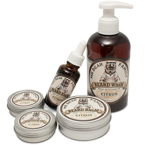 Mr Bear Family Baardbalsem Citrus 60 ml