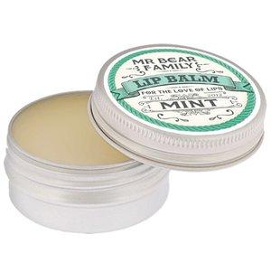 Mr Bear Family Lippenbalsem Mint 15 ml