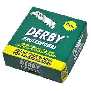 Derby Single Edge Scheermesjes 100 stuks