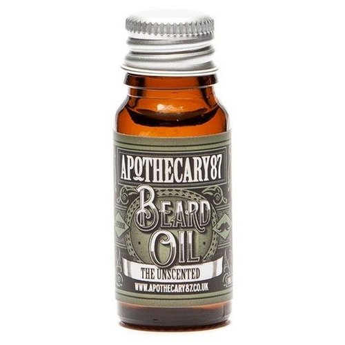 Apothecary87 The Unscented Baardolie 10 ml