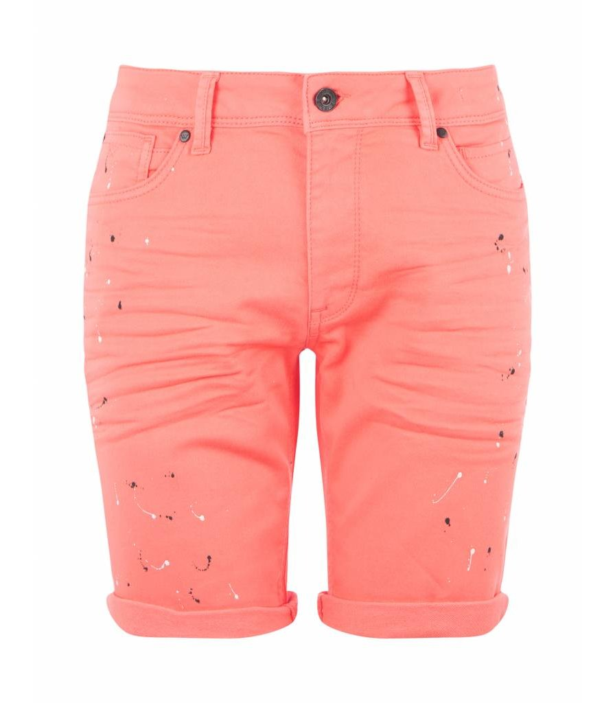 PURWHITE THE JOEY W0207 PAINT SPLATTERS CORAL