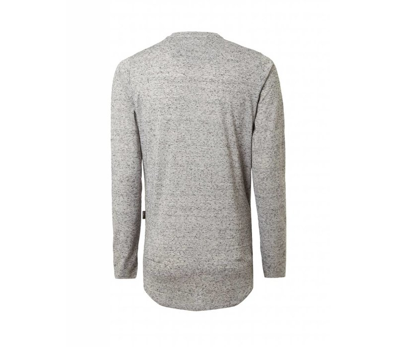 PUREWHITE KNITTED CREWNECK GREY
