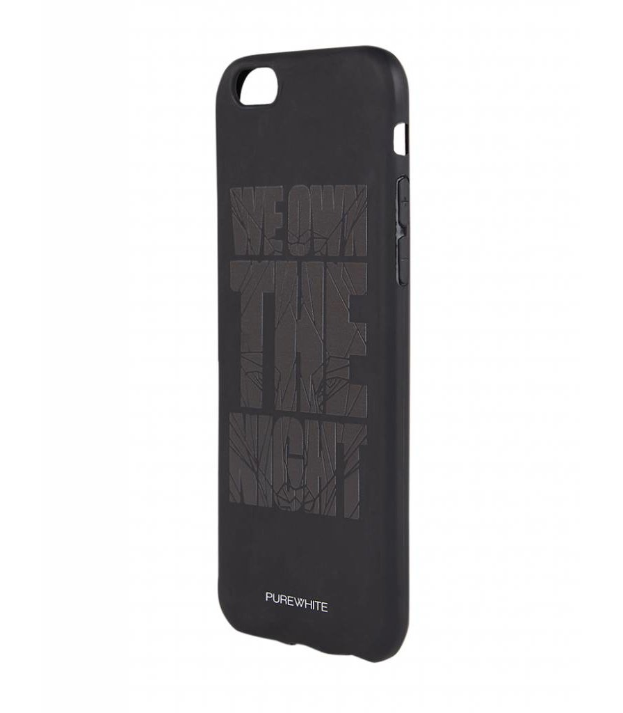 PUREWHITE 'WE OWN THE NIGHT' IPHONE 6 CASE  BLACK