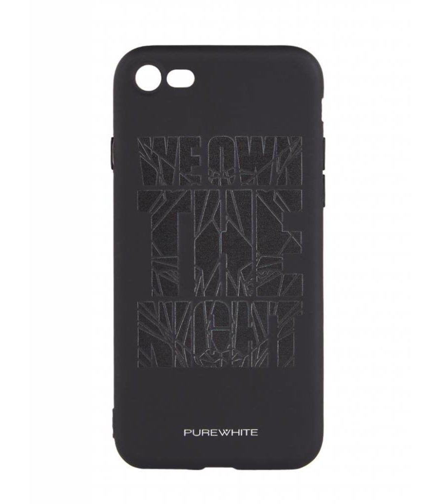 PUREWHITE 'WE OWN THE NIGHT' IPHONE 7 CASE  BLACK