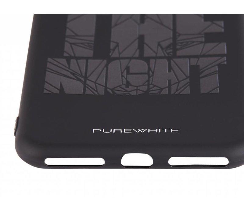 PUREWHITE 'WE OWN THE NIGHT' IPHONE 7/8 PLUS CASE  BLACK