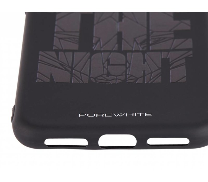 PUREWHITE 'WE OWN THE NIGHT' IPHONE X CASE  BLACK