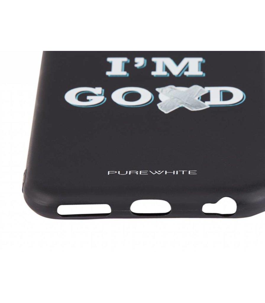 PUREWHITE 'DAMN I'M GOOD' IPHONE 6 CASE  BLACK