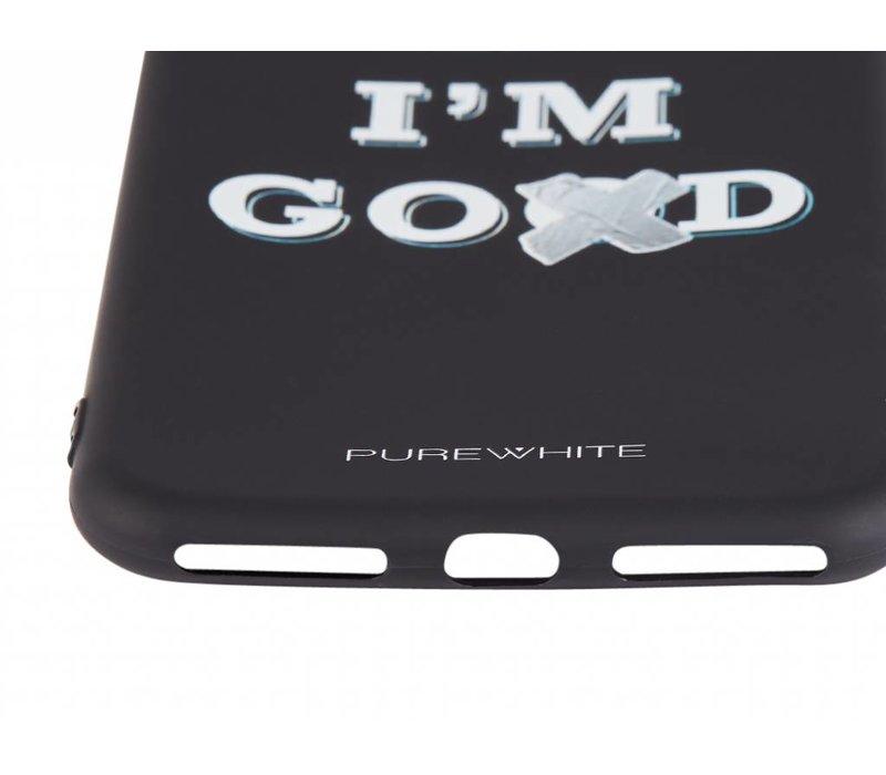 PUREWHITE 'DAMN I'M GOOD' IPHONE 7/8 PLUS CASE  BLACK
