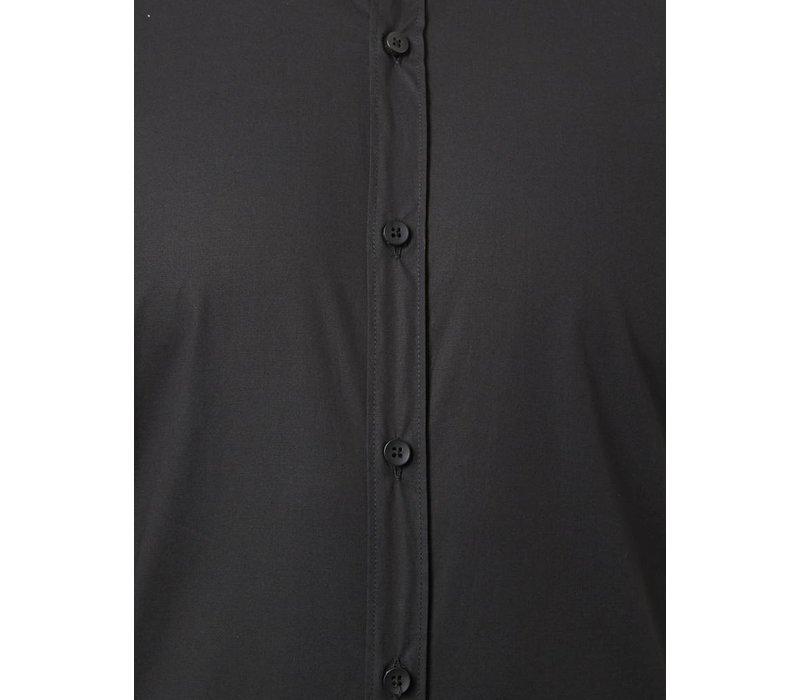 PUREWHITE TAPE SHIRT BLACK