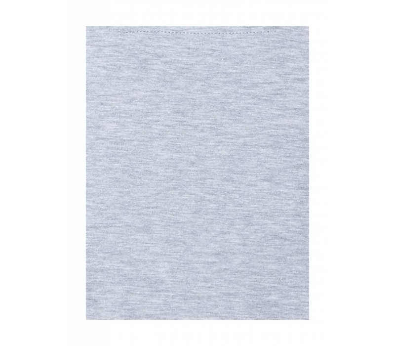 PUREWHITE PRINTED NECK T-SHIRT GREY MELANGE