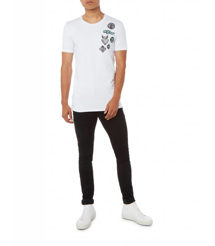 PUREWHITE PATCH T-SHIRT WHITE