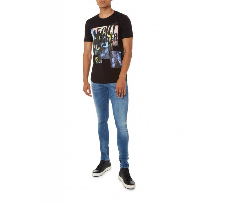 PUREWHITE NIGHTCRAWLER T-SHIRT BLACK