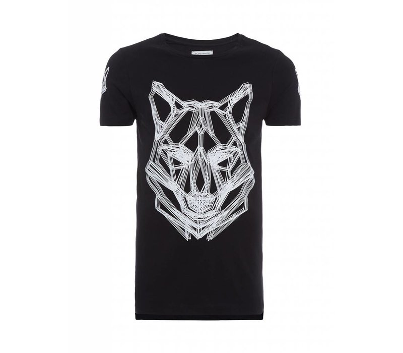 PUREWHITE WOLF T-SHIRT BLACK