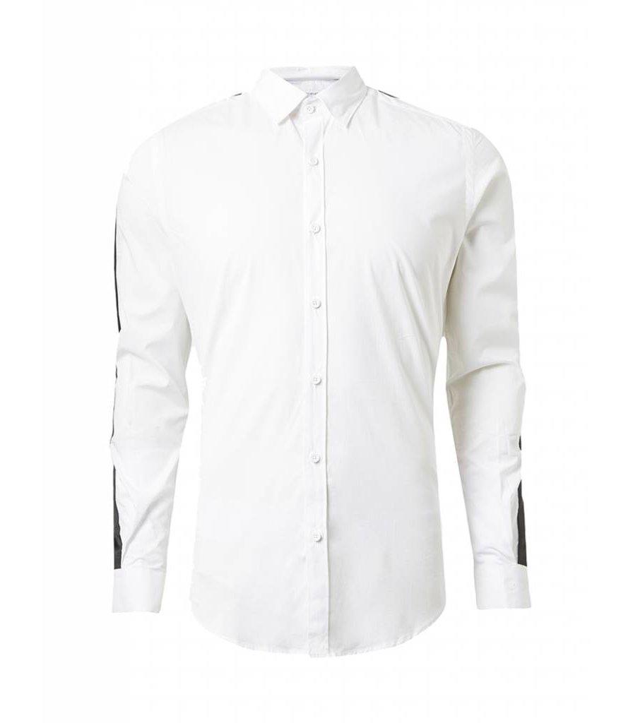 PUREWHITE TAPE SHIRT WHITE