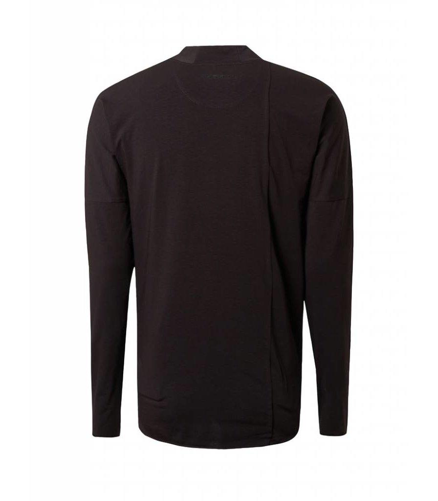PUREWHITE LONG SLEEVE T-SHIRT BLACK