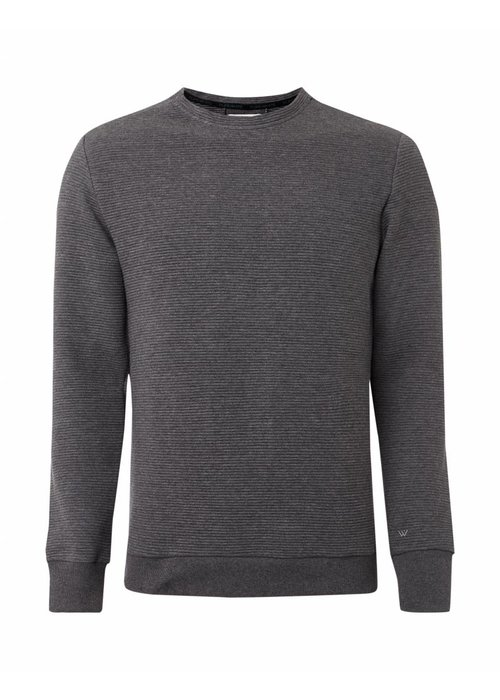 PUREWHITE RIBBED SWEATER ANTRA MELEE