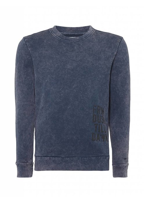 PUREWHITE 'FROM DUSK TILL DAWN' SWEATER NAVY