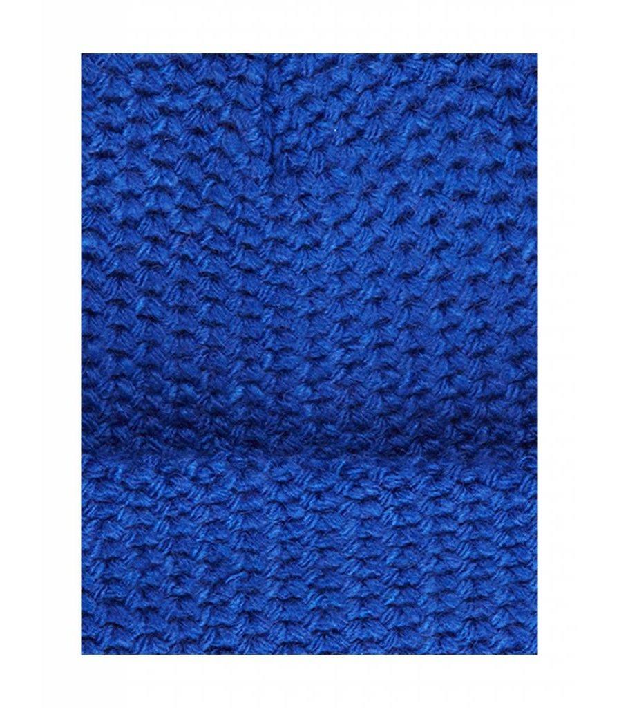 PUREWHITE BEANIE ROYAL BLUE