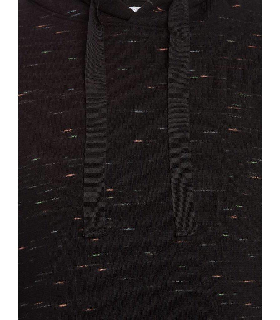 PUREWHITE COLORING MELEE TURTLENECK BLACK