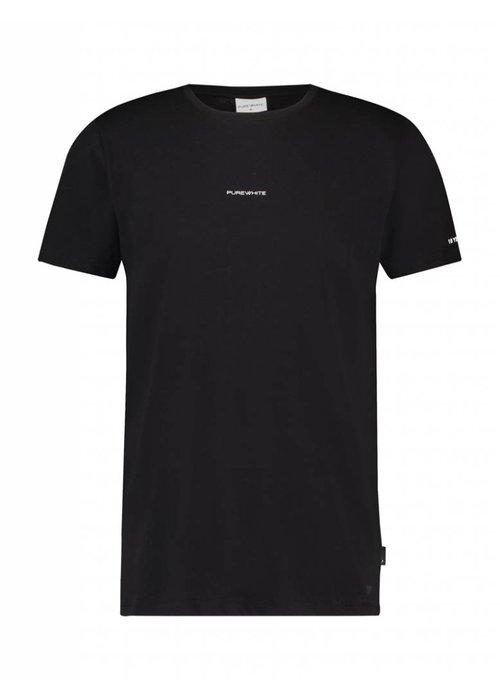 PUREWHITE ANNIVERSARY T-SHIRT BLACK
