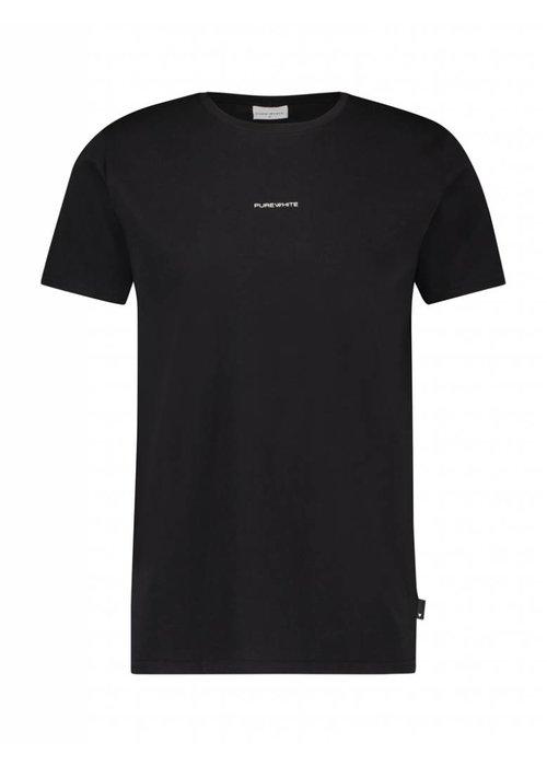 PUREWHITE LOGO T-SHIRT BLACK