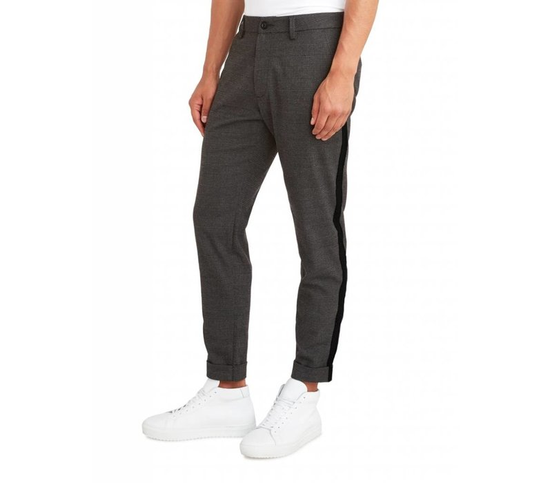 PUREWHITE THE JAMES 318 TAPE CHECKED PANTS ANTRA