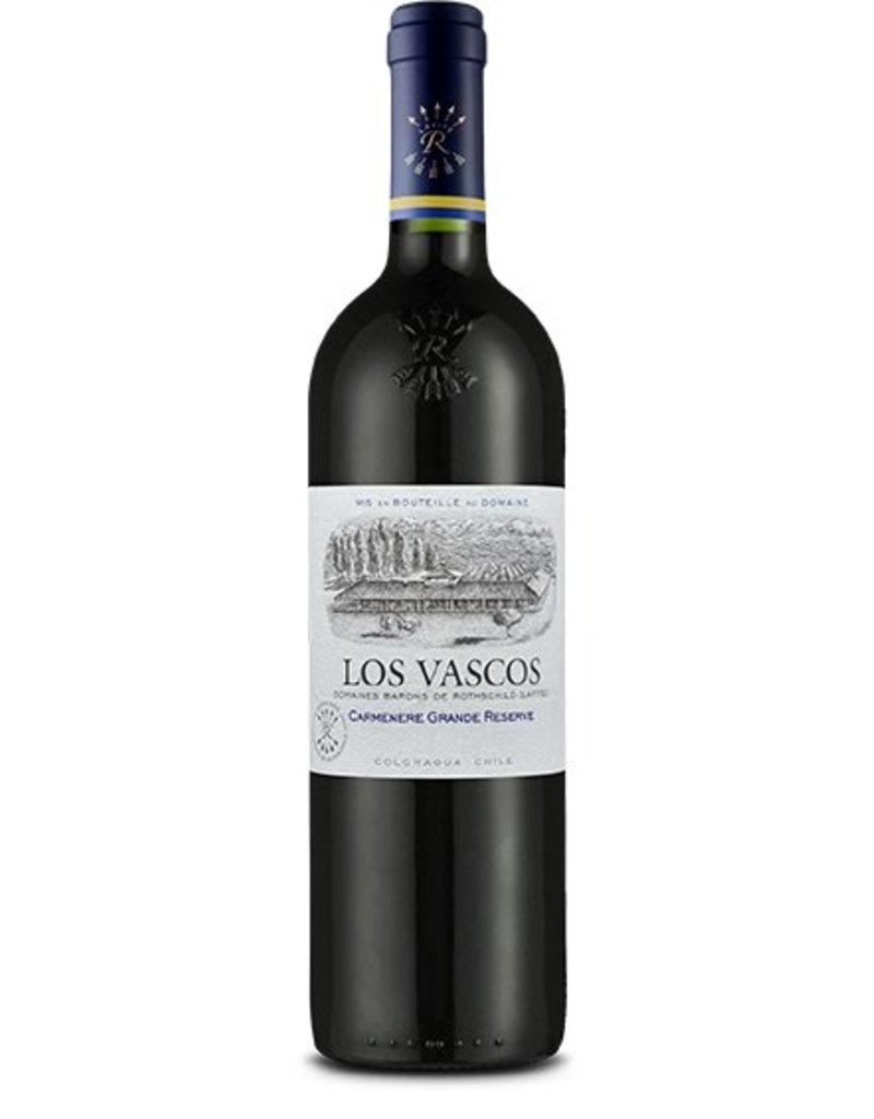 Los Vascos Los Vascos, Carménère Grande Réserve, Colchagua (rotschild)