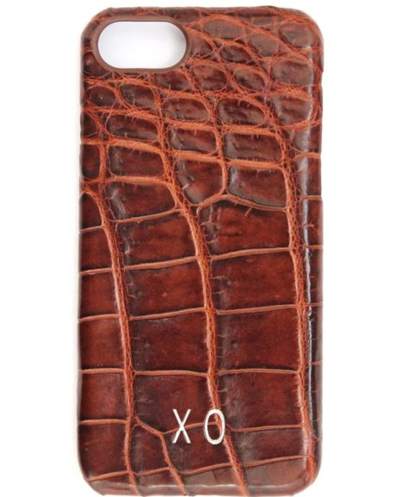 XO XO luxury croco Bruin iPhone 7