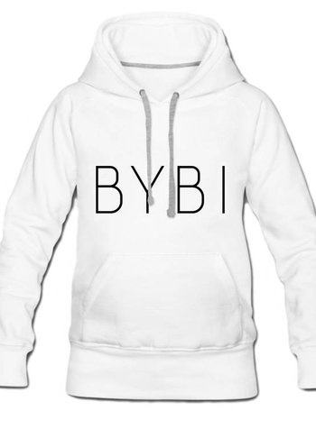 BYBI Lifestyle Fashion Brand BYBI Hoodie wit