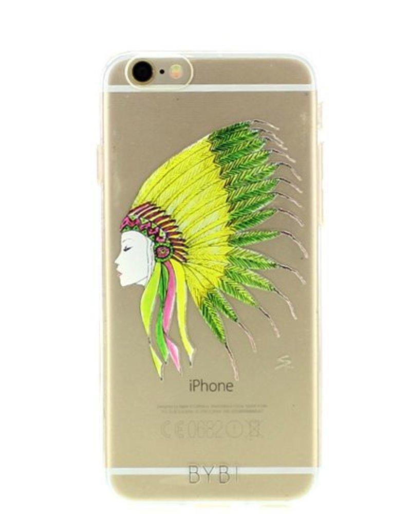 BYBI Lifestyle Fashion Brand Sioux telefoonhoesje iPhone 8