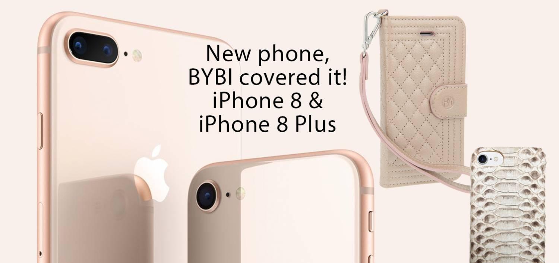 BYBI iPhone 8 & iPhone 8 Plus