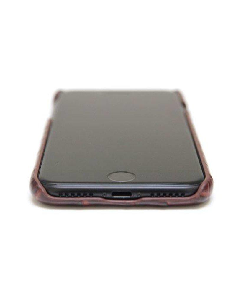 XO XO luxury croco Bruin iPhone 8