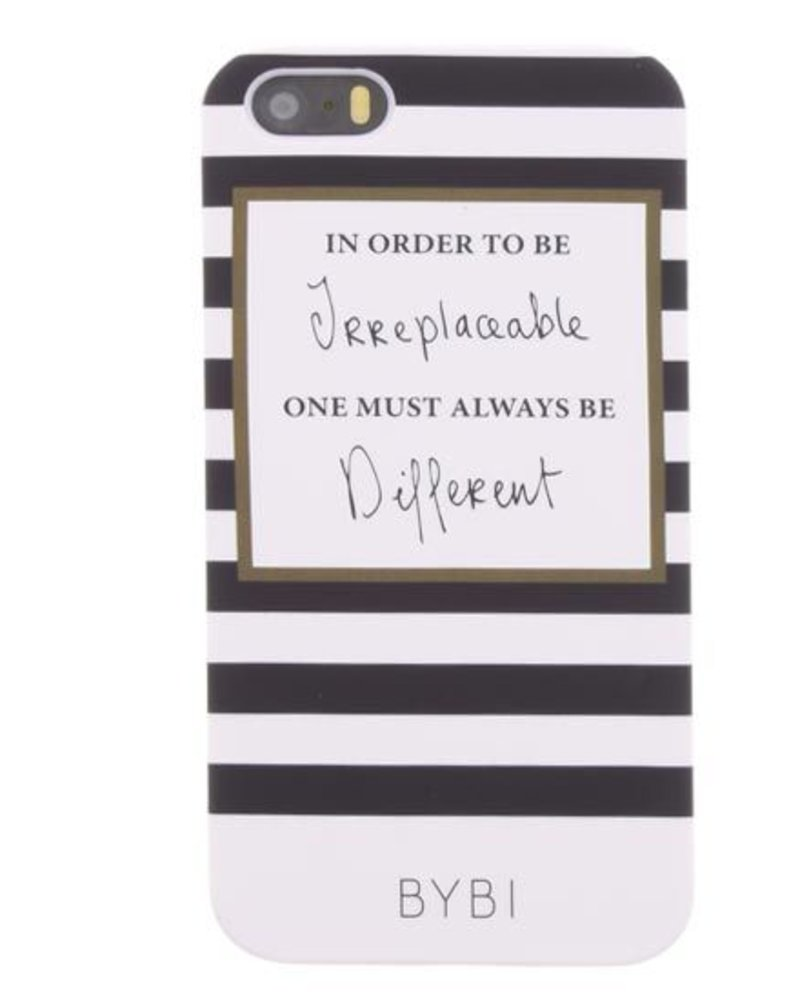 BYBI Lifestyle Fashion Brand In Order To Be Irreplaecable iPhone 5S/5