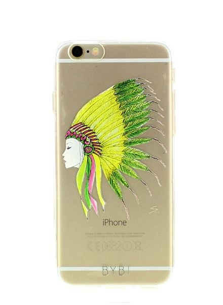 BYBI Lifestyle Fashion Brand Sioux telefoonhoesje iPhone SE
