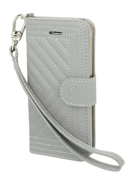 BYBI Lifestyle Fashion Brand Inspiring London Hoesje Grijs iPhone 5S/5