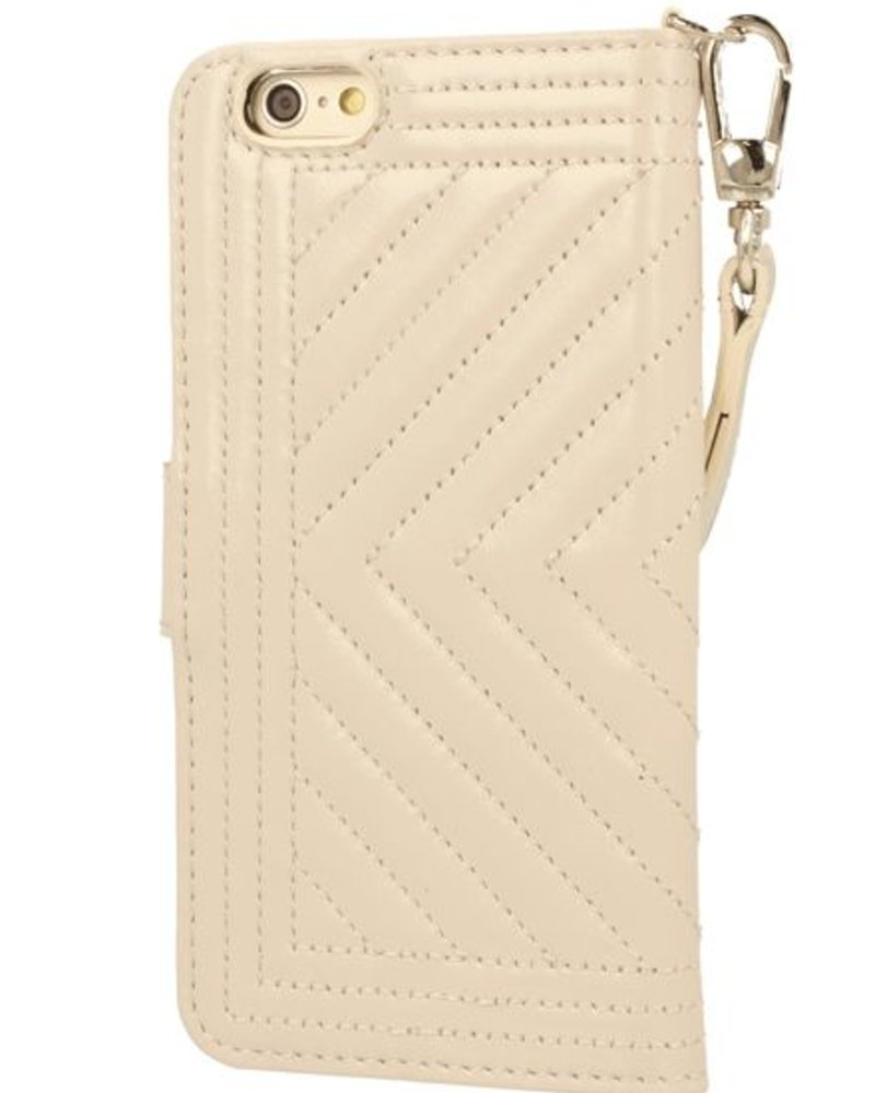 BYBI Lifestyle Fashion Brand Inspiring London Case Beige iPhone 6S/6