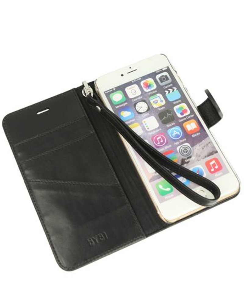 BYBI Lifestyle Fashion Brand Memorable Milano Zwart iPhone 6S/6 Plus