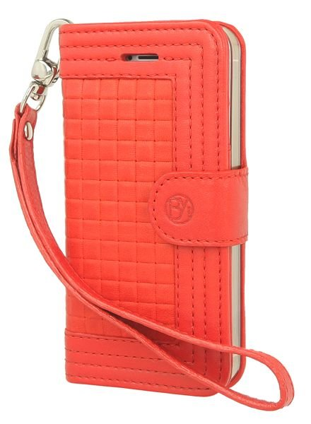 BYBI Lifestyle Fashion Brand Memorable Milano Hoesje Rood iPhone 5S/5
