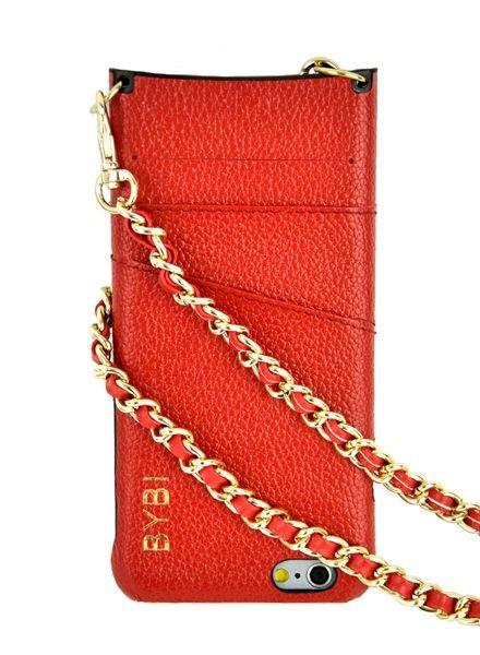 BYBI Lifestyle Fashion Brand I Am Stylish Hoesje Rood iPhone 6S/6