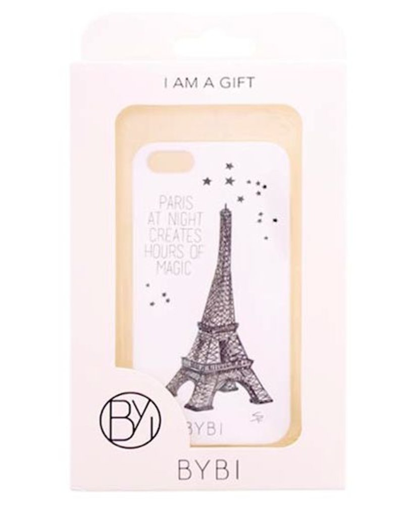 BYBI Lifestyle Fashion Brand Paris At Night... Glow in the dark iPhone SE