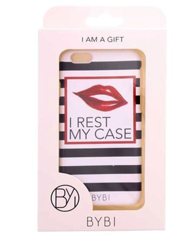 BYBI Lifestyle Fashion Brand I Rest My Case iPhone 6S/6