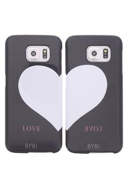 BYBI Lifestyle Fashion Brand Best Friends Combi Set (left&right) Samsung Galaxy S6