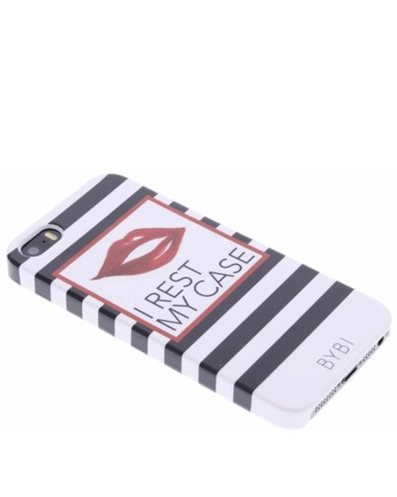 BYBI Lifestyle Fashion Brand I Rest My Case iPhone SE