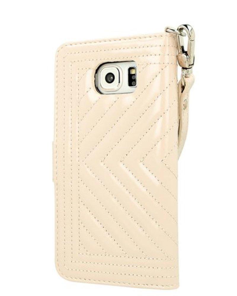BYBI Lifestyle Fashion Brand Inspiring London Case Beige Samsung Galaxy S6