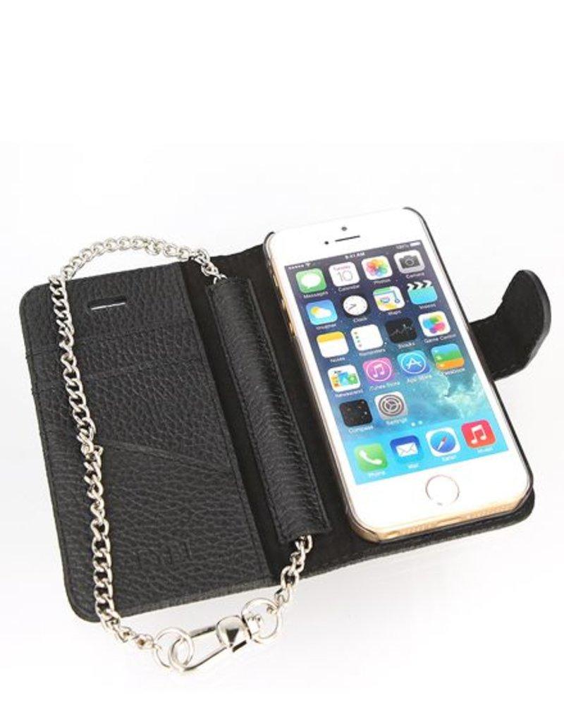 BYBI Lifestyle Fashion Brand Lovely Paris Hoesje Zwart iPhone 5S/5