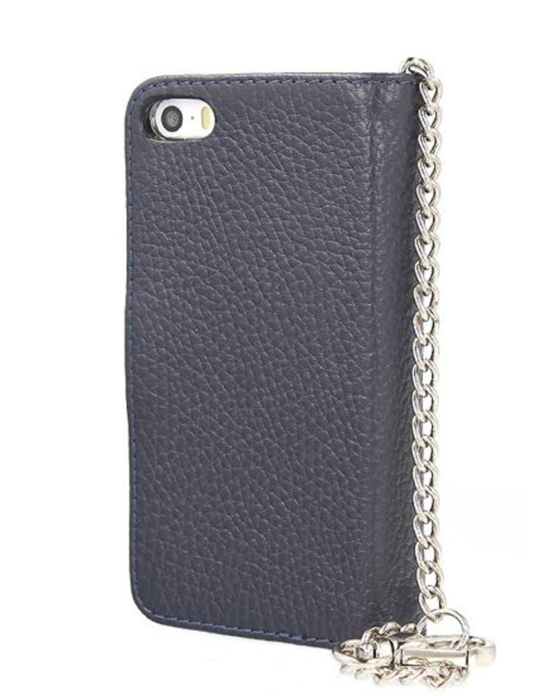 BYBI Lifestyle Fashion Brand Lovely Paris Donker Blauw iPhone 5S/5