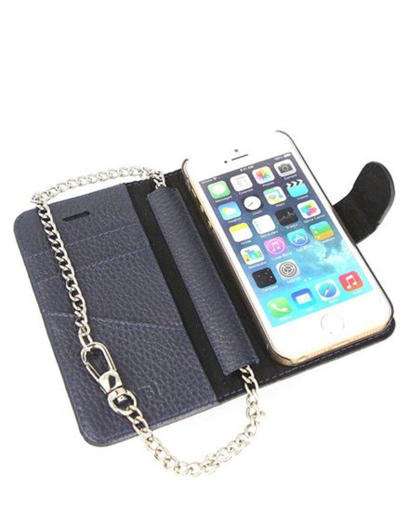BYBI Lifestyle Fashion Brand Lovely Paris Donker Blauw iPhone SE