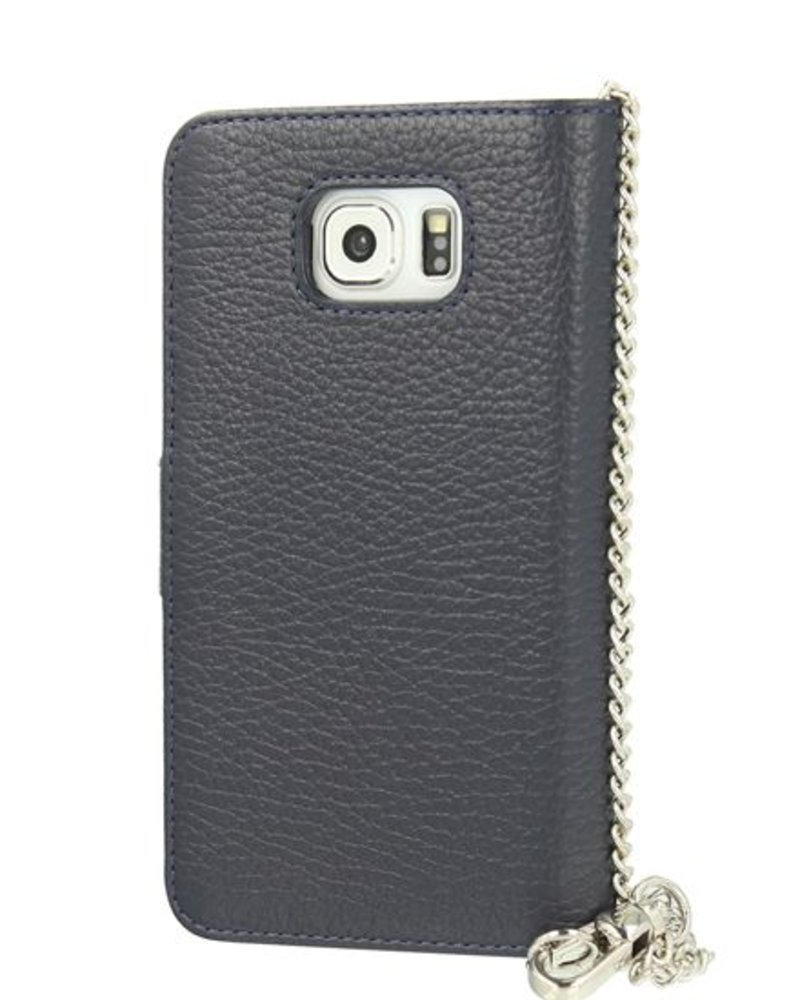 BYBI Lifestyle Fashion Brand Lovely Paris Donker Blauw Samsung Galaxy S6